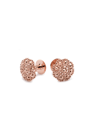 Alice Made This Rose Gold-Plated Bronze George Cufflinks
