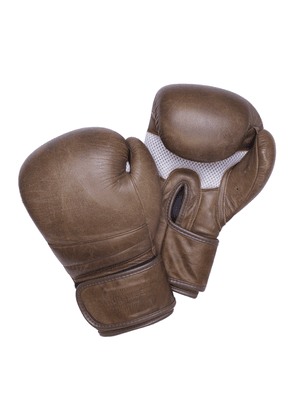Brown Buffalo Leather Boxing Gloves