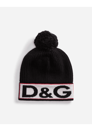 Dolce & Gabbana Hats and Gloves - WOOL HAT BLACK