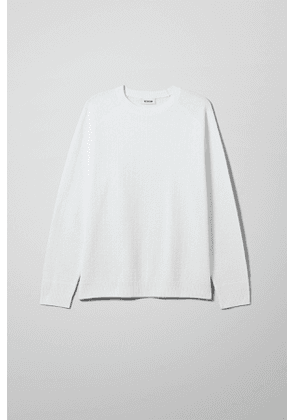 Cave Sweater - White