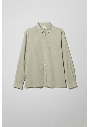 Wise Cord Shirt - Green