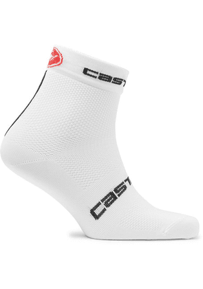 Castelli - Free 9 Antibacterial Cycling Socks - White