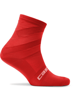 Castelli - Free Kit 13 Stretch-nylon Socks - Red