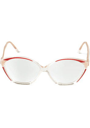 Balenciaga Vintage cat eye glasses - Neutrals
