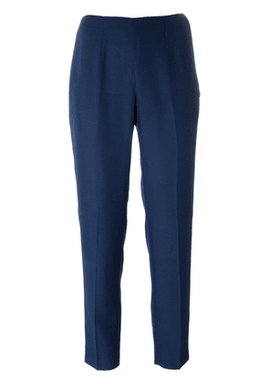 Emilio Pucci Vintage high-waisted trousers - Blue