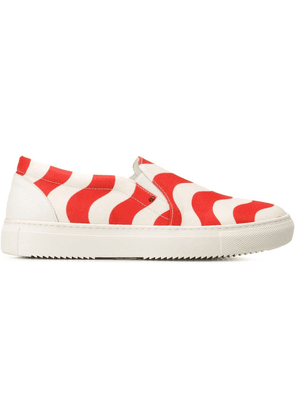 Au Jour Le Jour slip-on sneakers - Red
