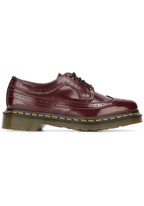 Dr. Martens ridged sole brogues - Pink