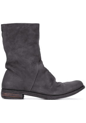 A Diciannoveventitre zipped boots - Black