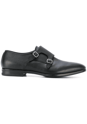 Fabi monk strap shoes - Black