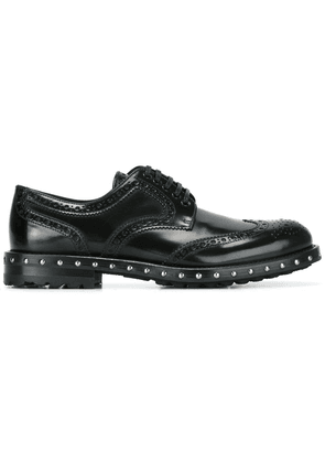 Dolce & Gabbana studded brogues - Black