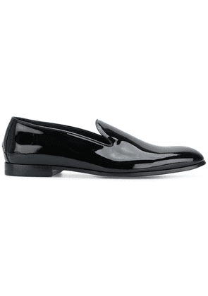 Doucal's Vernice loafers - Black