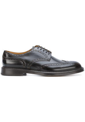 Doucal's classic brogues - Brown