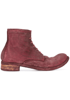 A Diciannoveventitre Culatta ankle boots - Red