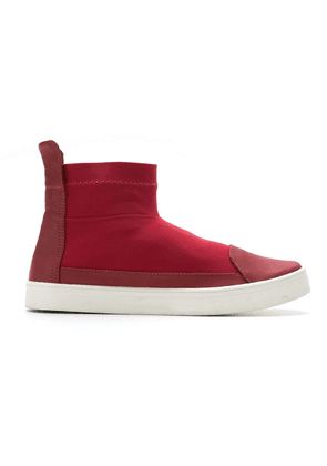 Gloria Coelho mid-top sneakers - Red