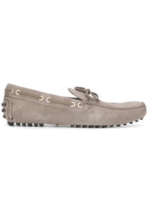 Car Shoe lace up loafers - Grey