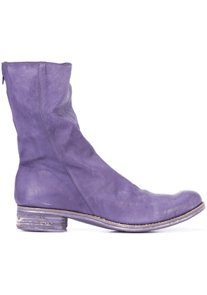 A Diciannoveventitre slouched boots - Purple