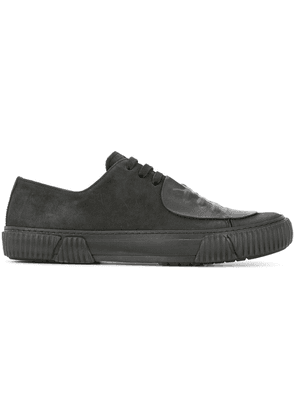 Both patch detail sneakers - Black