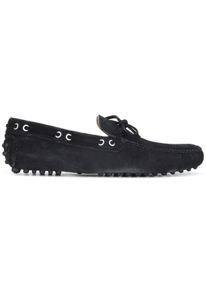 Car Shoe lace up loafers - Blue