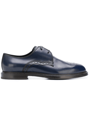 Dolce & Gabbana Derby round toe brogues - Blue