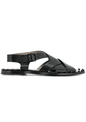 Agl crossover strap sandals - Black