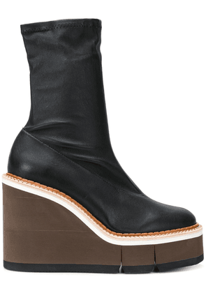 Clergerie chunky heel boots - Black