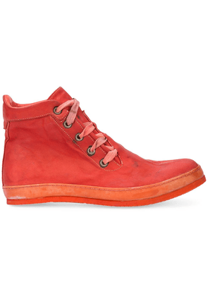 A Diciannoveventitre distressed sneakers - Red