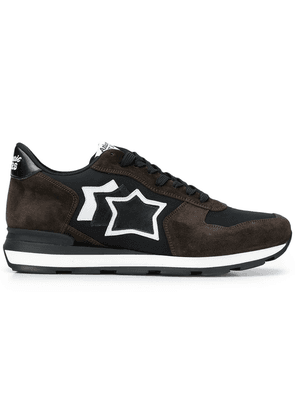 Atlantic Stars star side trainers - Brown