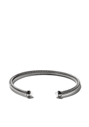 David Yurman 18kt yellow gold accented sterling silver Cable cuff