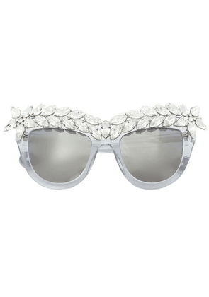 Anna Karin Karlsson 'Decadence' sunglasses - Ice Crystal