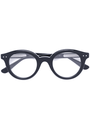 Bottega Veneta Eyewear round frame glasses - Black