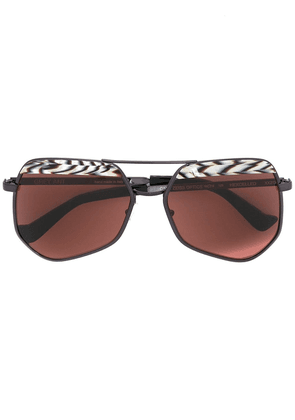Grey Ant Hexcelled sunglasses - Neutrals