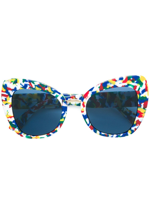 Dolce & Gabbana Eyewear Limited Edition printed butterfly sunglasses -