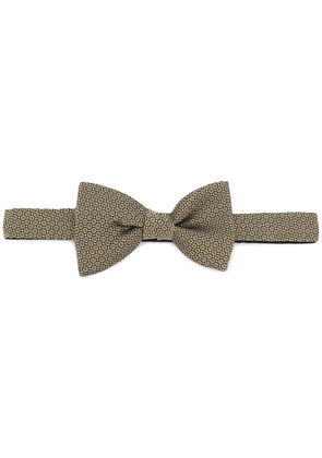 Lanvin printed bow tie - Yellow