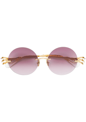 Anna Karin Karlsson The Claw And The Nest sunglasses - Metallic