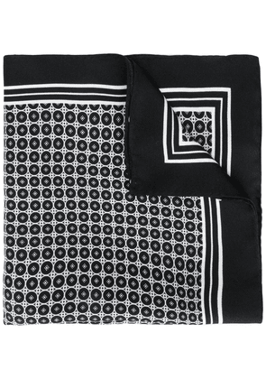 Dolce & Gabbana geometric print pocket square - Black