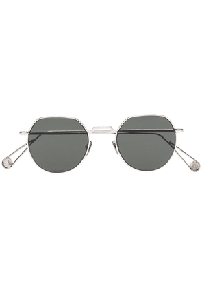 Ahlem 22k gold plated Place Dauphine sunglasses - Green