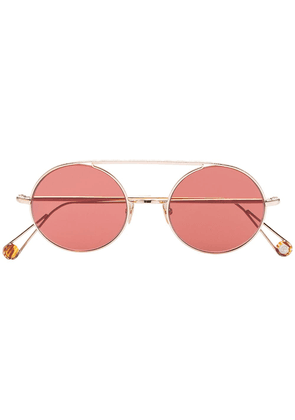Ahlem 22k gold plated Place d'Acadie sunglasses - Pink