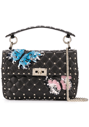 Valentino medium Valentino Garavani Rockstud Spike bag - Black