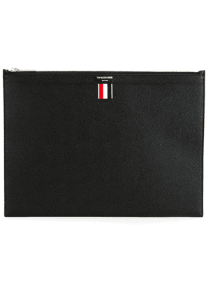 Thom Browne MEDIUM DOCUMENT HOLDER - Black