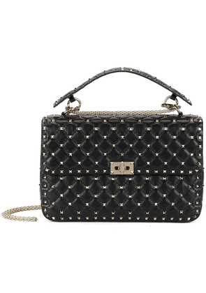Valentino Rockstud Spike crossbody bag - Black