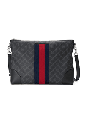 Gucci GG Supreme messenger bag - Black