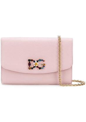 Dolce & Gabbana crossbody wallet bag - Pink