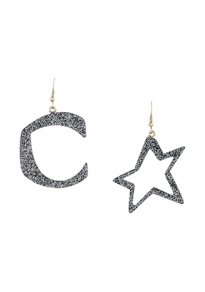Corto Moltedo Orecchini Plexi earrings - Grey