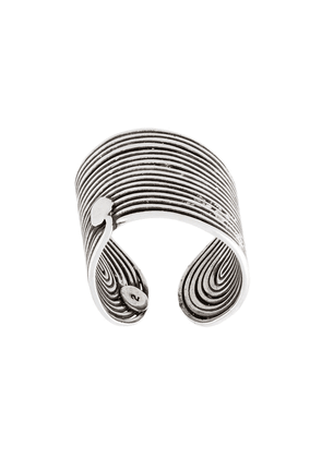Gas Bijoux 'Wave' ring - Metallic