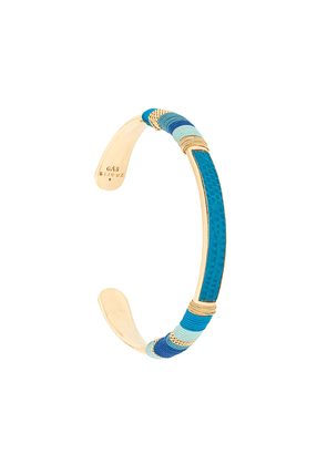 Gas Bijoux Massai cuff - Blue