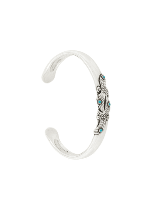 Gas Bijoux Eagle cuff - Metallic