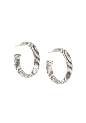 Gas Bijoux Milo hoop earrings - Metallic