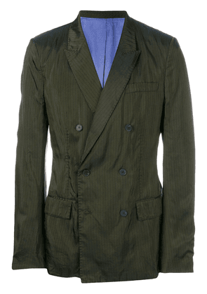 Haider Ackermann double-breasted jacket - Green