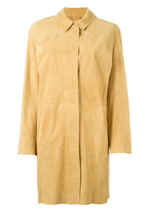 Desa 1972 buttoned up coat - Yellow