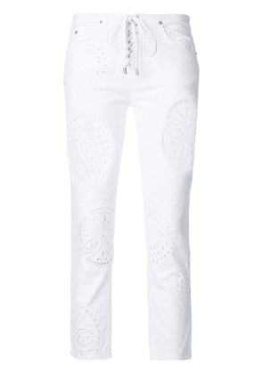 Isabel Marant slim fit trousers - White